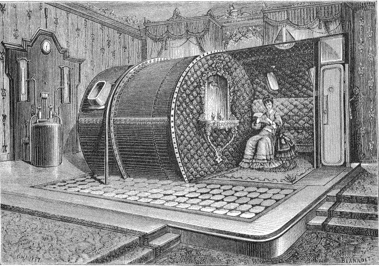 établissement aérothérapique 1850